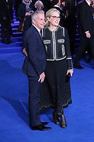 Marc Platt and Meryl Streep, Mary Poppins Returns European Premiere, Royal Albert Hall, Kensington Gore, London, UK, 12 December 2018, Photo by Richard Goldschmidt