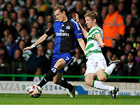 v.l. Marcell Jansen , Mark Wilson Celtic<br /> Europa League Celtic Glasgow - Hamburger SV<br /> <br /> Norway only
