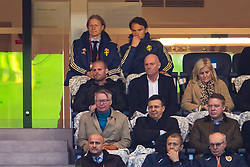 March 23, 2019 - Stockholm, SWEDEN - 190323 Albin Ekdal of Sweden in the stands during the UEFA Euro Qualifier football match between Sweden and Romania on March 23, 2019 in Stockholm. (Credit Image: © Andreas L Eriksson/Bildbyran via ZUMA Press)
