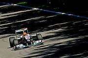 September 10-12, 2010: Italian Grand Prix. Michael Schumacher, Mercedes