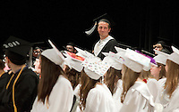 Prospect Mountain High School commencement ceremony June 17, 2011.