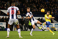 Leeds United's Mateusz Klich fires a shot towards goal<br /> <br /> Photographer David Shipman/CameraSport<br /> <br /> The EFL Sky Bet Championship - West Bromwich Albion v Leeds United - Saturday 10th November 2018 - The Hawthorns - West Bromwich<br /> <br /> World Copyright © 2018 CameraSport. All rights reserved. 43 Linden Ave. Countesthorpe. Leicester. England. LE8 5PG - Tel: +44 (0) 116 277 4147 - admin@camerasport.com - www.camerasport.com