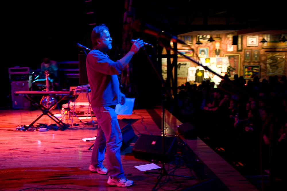 Charles Ray, sound engineer. Robert Earl Keen and the Robert Earl Keen Band live in concert at the House of Blues in Houston, Texas on Sunday, December 28 2008. Photograph © 2008 Darren Carroll