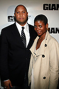 Marc and Bridgette Gunn at The Giant Magazine Party, celebrating cover girl Kimora Lee Simmons and new Editor-in-Chief Emil Wilbekin, the award-winning editor as he unveils his debut issue.