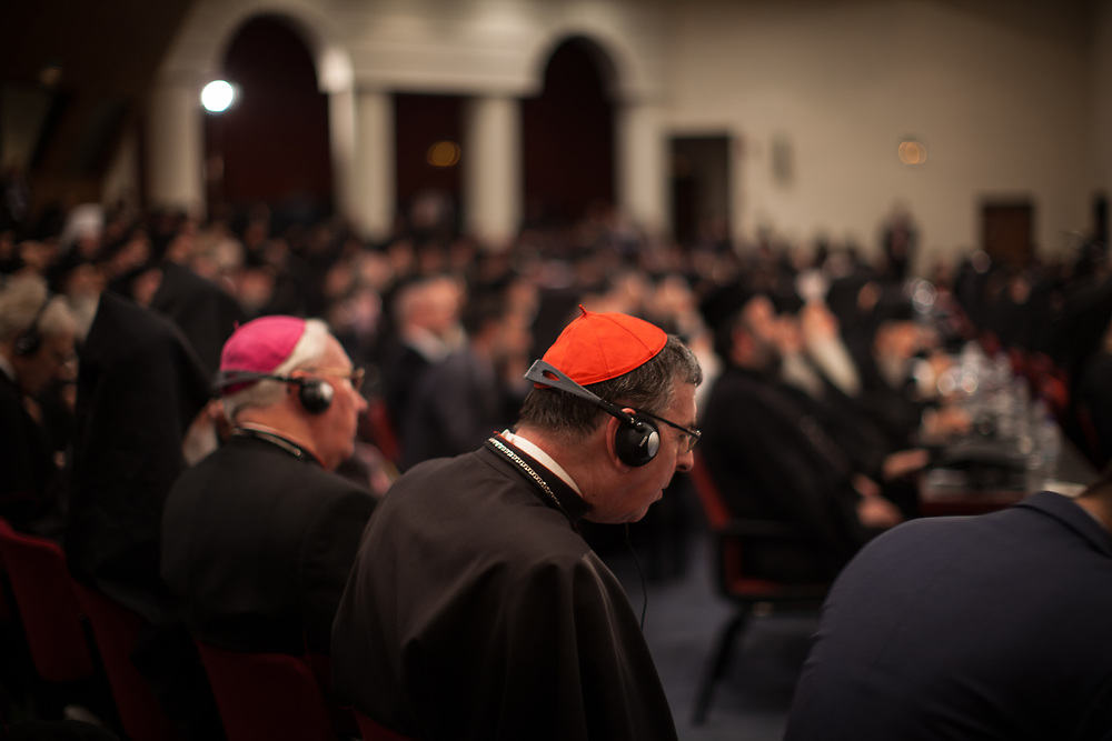 Cardinal Koch and Bishop Brian Farrell of the Pontifical Council for Promoting Christian Unity attended the opening session of the Holy and Great Council as observers from the Vatican.