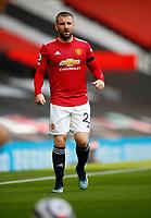 Football - 2020 / 2021 Premier League - Manchester United vs Burnley - Old Trafford<br /> <br /> Luke Shaw of Manchester United at Old Trafford<br /> <br /> Credit COLORSPORT/LYNNE CAMERON