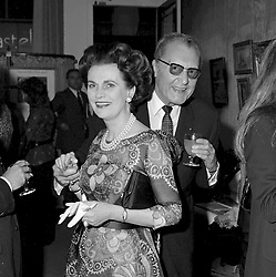 23 May 1972 - Margaret, Duchess of Argyll and Prince Youka Troubetzkoy at a party in London.<br /> <br /> Photo by Desmond O'Neill Features Ltd.  +44(0)1306 731608  www.donfeatures.com