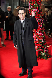 © Licensed to London News Pictures. 13/02/2014. London, UK. JJ Abrams as he attends during A New York Winter's Tale premiere outside the Odeon Kensington. Photo credit : Andrea Baldo/LNP