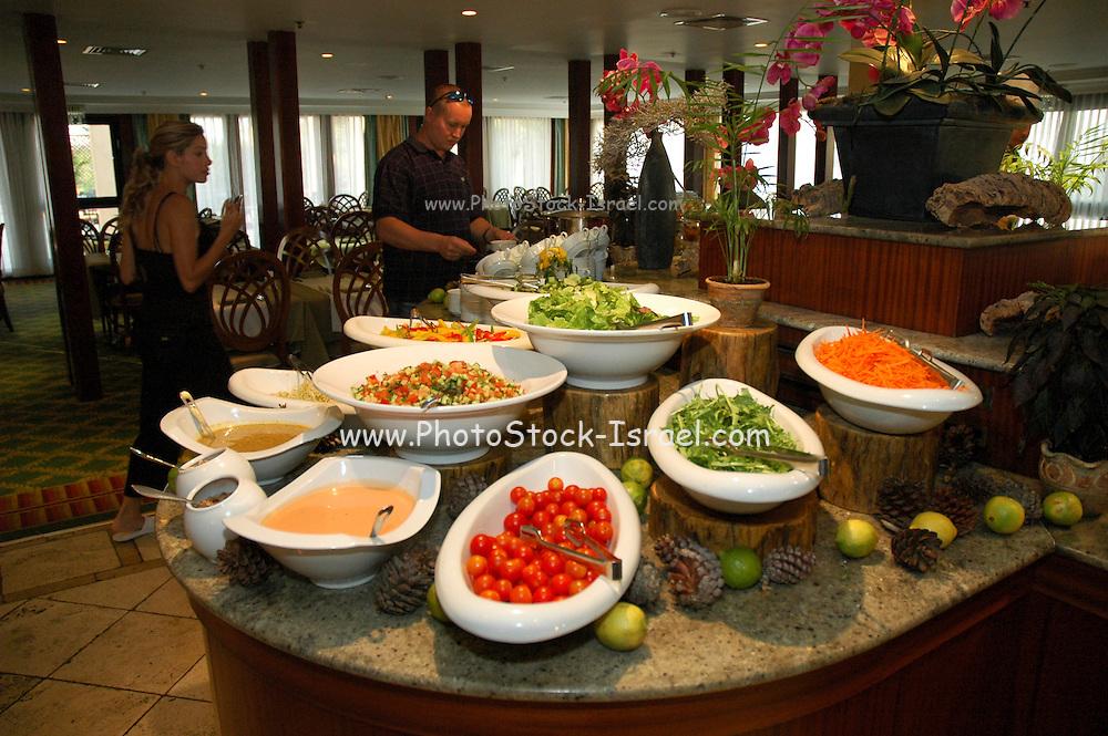 Yaarot Hacarmel (Carmel Forest) Hotel Carmel Mountain, Israel The buffet