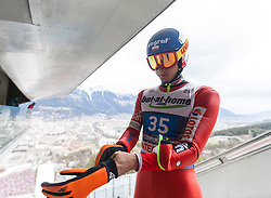 04.01.2014, Bergisel Schanze, Innsbruck, AUT, FIS Ski Sprung Weltcup, 62. Vierschanzentournee, Probesprung, im Bild Maciej Kot (POL) // Maciej Kot (POL) during Trial Jump of 62nd Four Hills Tournament of FIS Ski Jumping World Cup at the Bergisel Schanze, Innsbruck, Austria on 2014/01/04. EXPA Pictures © 2014, PhotoCredit: EXPA/ JFK