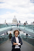 May0091255 . Daily Telegraph<br /> <br /> DT Business<br /> <br /> Women Mean Business<br /> <br /> Women who invest in women-led businesses. Fund Manager Joo Hee Lee is one such investor who has won an award for her work <br /> <br /> London 2 September 2019