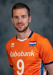 21-05-2019 NED: Team shoot Dutch volleyball team men, Arnhem<br /> Ewoud Gommans #9 of Netherlands
