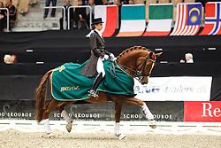 De Deken Julie (BEL) - Fazzino<br /> JBK Horse Show Odense 2010<br /> © Hippo Foto - Leanjo de Koster