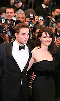 Actor Robert Pattinson and actress Juliette Binoche at the Cosmopolis gala screening at the 65th Cannes Film Festival France. Cosmopolis is directed by David Cronenberg and based on the book by writer Don Dellilo.  Friday 25th May 2012 in Cannes Film Festival, France.