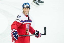 Jaromir Jagr of Czech Republic after the Ice Hockey match between Finland and Czech Republic at Quarterfinals of 2015 IIHF World Championship, on May 14, 2015 in O2 Arena, Prague, Czech Republic. Photo by Vid Ponikvar / Sportida