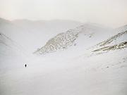Trekking in the Gobi Gurvan Saikhan national park.