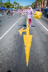 January 2, 2018 - Cape Town, Western Cape, South Africa - Cape Town, South Africa - The traditional  Tweede Nuwe Jaar (2nd new year) Cape minstrels parade also know as the Kaapse Klopse or historically as the ''Coon Carnival'' is a unique Cape Town holiday celebrated by the Cape Malay, or ''colored'' community that dates back to the time of slavery and was influenced by 19th century visiting American blackface minstrel troupes. (Credit Image: © Edwin Remsberg / Vwpics/VW Pics via ZUMA Wire)