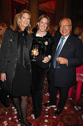 Left to right, FRANCESCA SCHWARZENBACH,     and URS SCHWARZENBACH at a party to celebrate the launch of the 'Inde Mysterieuse' jewellery collection held at Lancaster House, London SW1 on 19th September 2007.<br /><br />NON EXCLUSIVE - WORLD RIGHTS