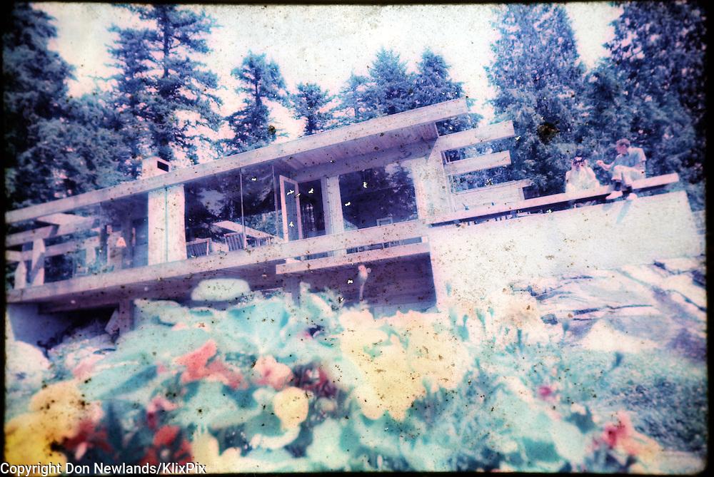 Architecture; Arthur Erickson; house; exterior