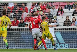 April 30, 2018 - Na - Lisbon, 04/28/2018 - Sport Lisboa e Benfica received this afternoon at the Estádio da Luz in Lisbon, CD Tondela in the 32nd matchday of the NOS Primera Liga, season 2017/2018. goal of Miguel Cardoso 1-1  (Credit Image: © Atlantico Press via ZUMA Wire)