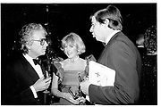 Nicky Haslam, Lady Tryon., Lord Tryon. Mardi Gras Ball. Grosvenor House. London. 5 March 1984.   *** Local Caption *** -DO NOT ARCHIVE-© Copyright Photograph by Dafydd Jones. 248 Clapham Rd. London SW9 0PZ. Tel 0207 820 0771. www.dafjones.com.