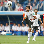 Egypt Marwan Mohsen during the 2018 FIFA World Cup Russia, Group A football match between Russia and Egypt on June 19, 2018 at Saint Petersburg Stadium in Saint Petersburg, Russia - Photo Stanley Gontha / Pro Shots / ProSportsImages / DPPI