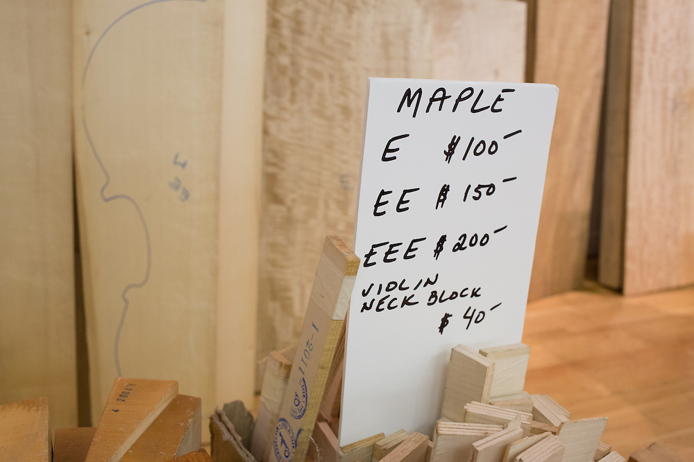 Maple tonewoods for sale. Maple is often used for sides and backs.