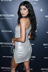 WEST HOLLYWOOD, LOS ANGELES, CA, USA - NOVEMBER 05: PrettyLittleThing X Hailey Baldwin Launch Event held at Catch LA Restaurant on November 5, 2018 in West Hollywood, Los Angeles, California, United States. 05 Nov 2018 Pictured: Nicole Williams English. Photo credit: Xavier Collin/Image Press Agency/MEGA TheMegaAgency.com +1 888 505 6342