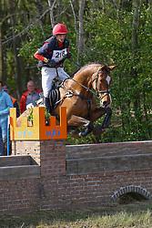 Ooms Tim, BEL, Equina vd Buitenheide<br /> Nationale LRV-Eventingkampioenschap Minderhout 2017<br /> © Hippo Foto - Kris Van Steen<br /> 30/04/17