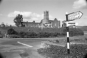 02.09.1986 <br /> 09.02.1986 <br /> 2nd September 1986 <br /> Pictures of a series of scenic shots taken in the Cork / Kerry region of Ireland. Image shows Timoleague Abbey.