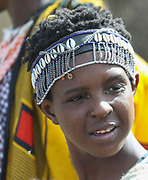 Young Maasai youth. Maasai is an ethnic group of semi-nomadic people Photographed in Kenya