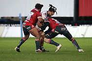 Bristol Bears Chris Vui during the Gallagher Premiership Rugby match between Gloucester Rugby and Bristol Rugby at the Kingsholm Stadium, Gloucester, United Kingdom on 12 February 2021.
