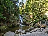 Szklarki - wodospad