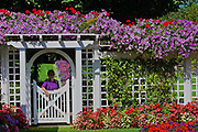Mrs. Butchart's private garden, Butchart Gardens, Victoria, Canada
