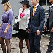 NLD/Den Haag/20100921 - Prinsjesdag 2010, Geert Wilders en partner Krisztina