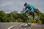 #127 (ESCOBAR YEPES Andrea) COL GW 100% at Round 8 of the 2019 UCI BMX Supercross World Cup in Rock Hill, USA
