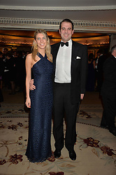 HARRY SOAMES and ISABELLA WORSLEY at the 26th Cartier Racing Awards held at The Dorchester, Park Lane, London on 8th November 2016.