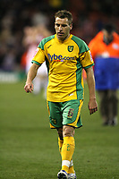 Photo: Paul Greenwood/Sportsbeat Images.<br />Stoke City v Norwich City. Coca Cola Championship. 01/12/2007.<br />A dejected Darren Huckerby leaves the field