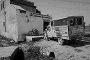 The Varanasi for Animals Rescue and Rehabilitation Center. Varanasi, India.
