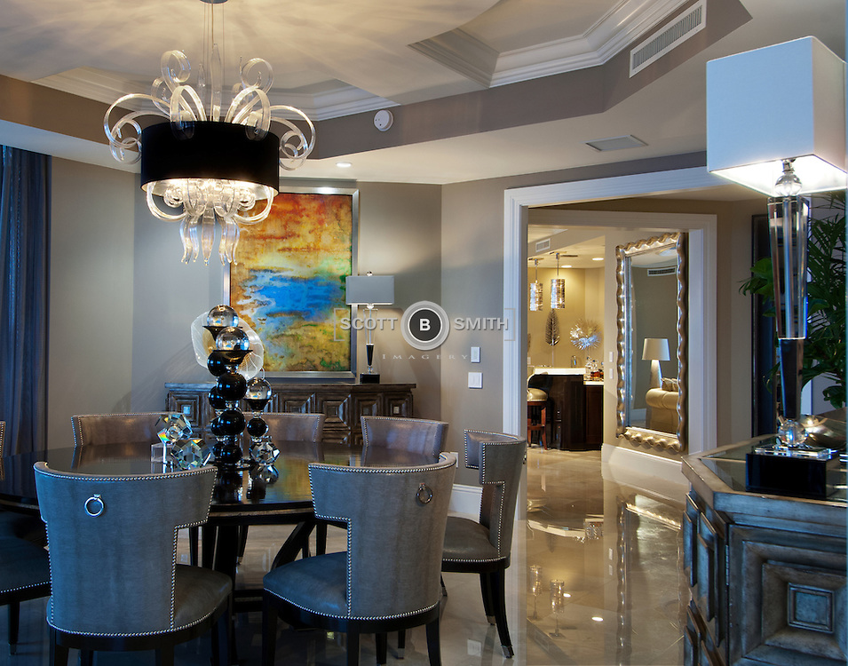 The Ritz-Carlton Residences at Singer Island, Florida, photographed for the owner and Schrapper's Custom Fine Cabinetry, Jupiter, Florida.