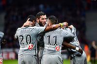 Joie Marseille - Andre Pierre GIGNAC - 16.05.2015 - Lille / Marseille - 37eme journee de Ligue 1<br />Photo : Gaston Petrelli / Icon Sport