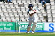 Joe Root of Yorkshire batting during the Specsavers County Champ Div 1 match between Hampshire County Cricket Club and Yorkshire County Cricket Club at the Ageas Bowl, Southampton, United Kingdom on 11 April 2019.