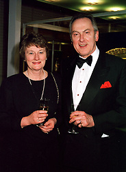 DR & MRS JACK CUNNINGHAM, the former Labour Government <br /> Minister at a reception in London on 17th April 2000.OCX 30