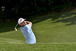 October 12, 2017 - Kuala Lumpur, Malaysia - Keegan Bradley of the USA in action during the first round of the CIMB Classic 2017 golf tournament at TPC Kuala Lumpur, Malaysia. (Credit Image: © Chris Jung/NurPhoto via ZUMA Press)