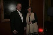 Al Gore and Sarah Brown, Morgan Stanley Great Briton 2006. The Guildhall. Basinghall st. London. 18 January 2006. h by Dafydd Jones. 248 Clapham Rd. London SW9 0PZ. Tel 0207 820 0771. www.dafjones.com.