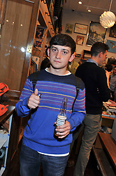Actor CRAIG ROBERTS at the opening of the new Jack Spade store at 83 Brewer street, London on 29th March 2012.