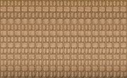 Digitally enhanced image of repeating wall decoration in brown
