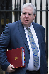Downing Street, London, February 9th 2016.  Transport Secretary Patrick McLoughlin arrives in Downing Street for the weekly cabinet meeting. ///FOR LICENCING CONTACT: paul@pauldaveycreative.co.uk TEL:+44 (0) 7966 016 296 or +44 (0) 20 8969 6875. ©2015 Paul R Davey. All rights reserved.