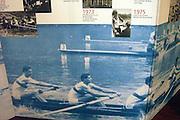 Berlin, GERMANY. Photo display boards of past glories, Berliner Ruderclub.  [Mandatory Credit; Peter Spurrier/Intersport-images].
