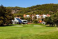 24-07-2016 Foto's persreis Golfers Magazine met Pin High naar Alicante en Valencia in Spanje. <br /> Foto: La Sella - clubhuis met Marriot op de achtergrond.